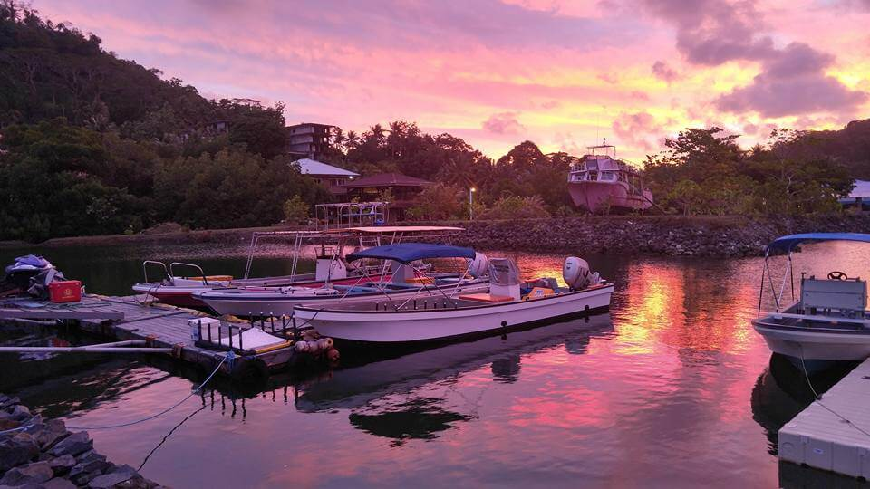 Boat Excursion at Sunset in Pohnpei