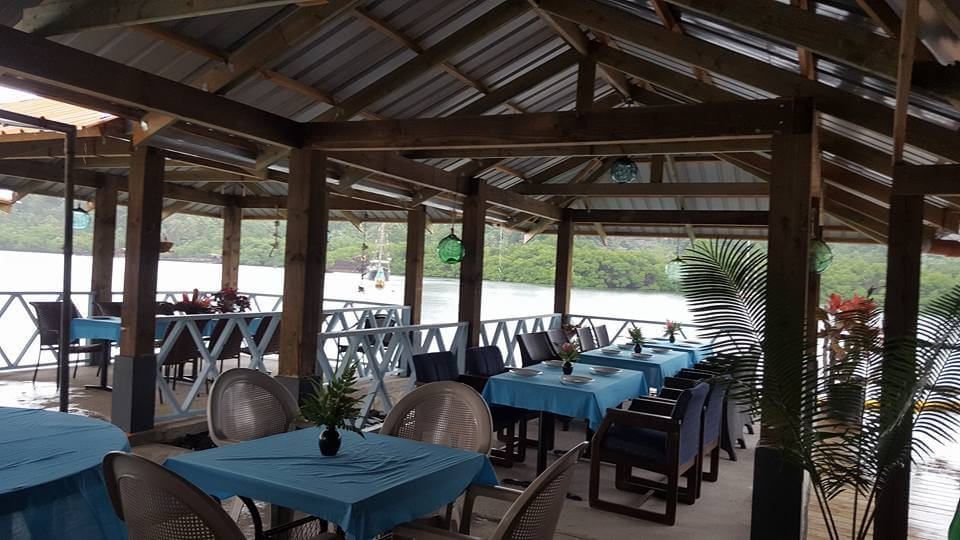 Dining at Pohnpei Surf Club