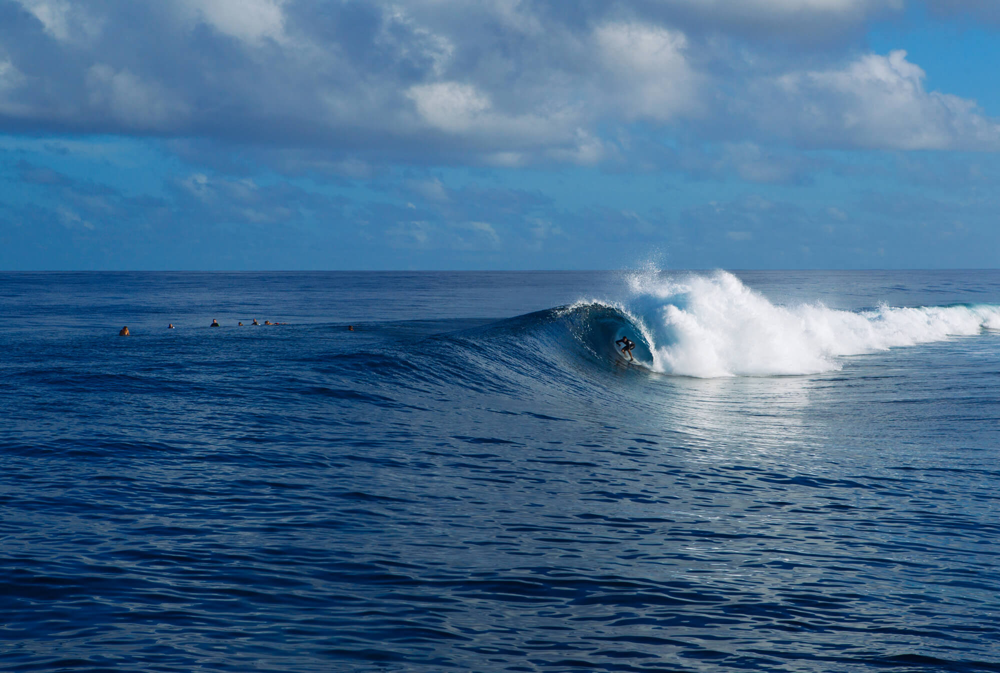 Beautiful waves at Pohnpei Surf Club