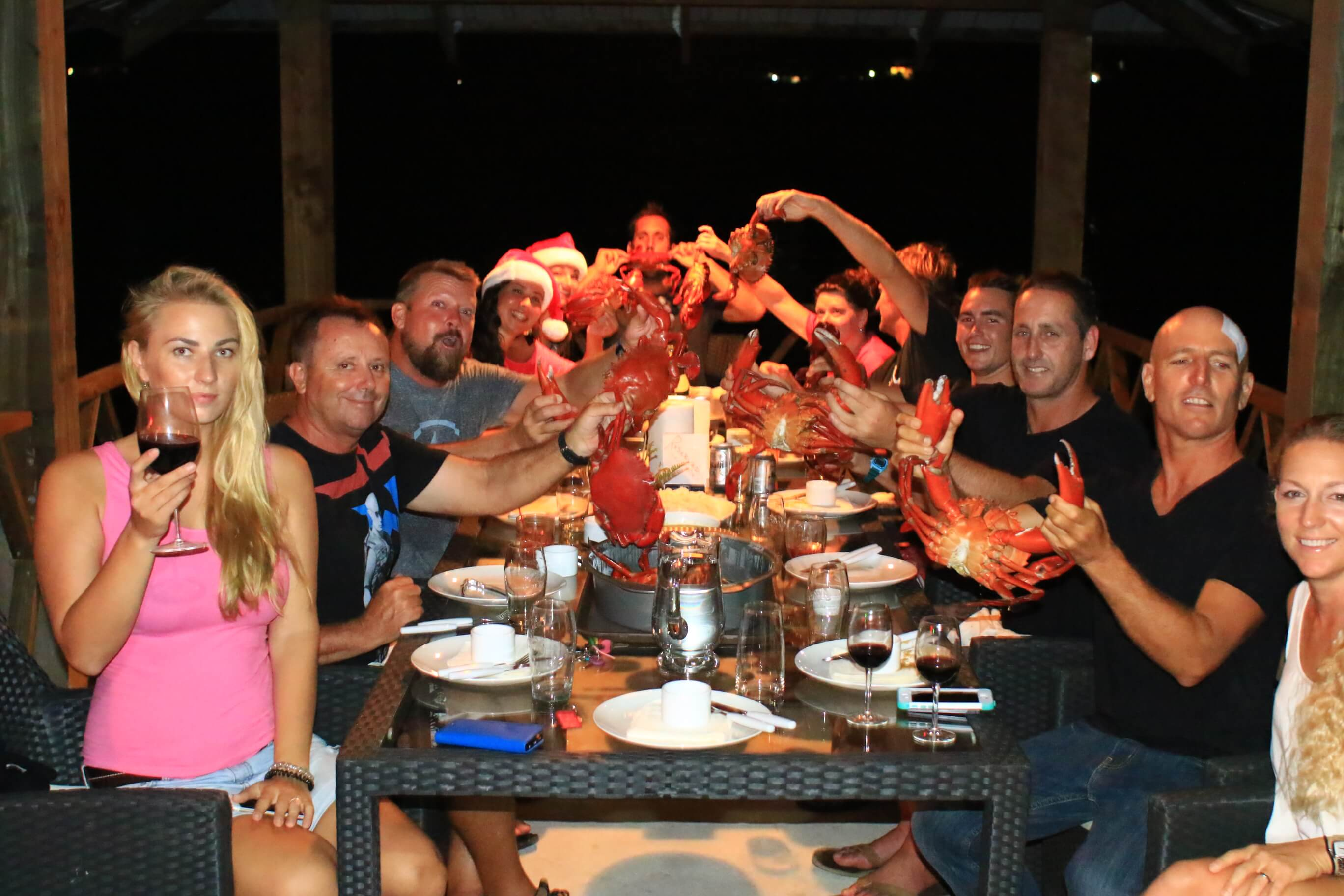 Crab and Lobster Dinner in Pohnpei